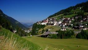 Val Gardena St. Christina in Alps. Val Gardena St. Christina in italian Alps stock video