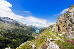 Val Ghilarda and Lago d'Arno - Lombardy Italy Stock Image