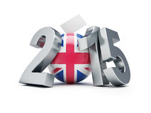Val i England 2015 Arkivfoto
