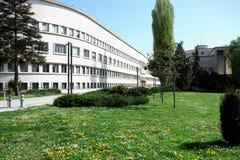 Val i Serbien 2016 - vojvodinas regerings- Novi Sad Arkivbild