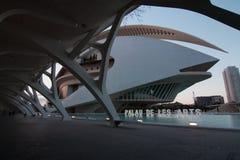 Val?ncia, Espanha - 28 de abril de 2019: Palau de les Arte Reina Sofia Queen Sofia Palace das artes, projetada por Calatrava foto de stock
