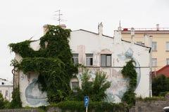 Val på en husvägg Royaltyfri Fotografi