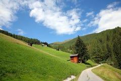 Val Pusteria, Dolomite - Italy. View Val Pusteria, Dolomite - Italy royalty free stock photos
