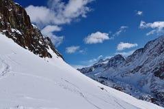 Val Senales, Италия Стоковое Фото