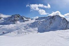 Val Senales, Itália Fotos de Stock