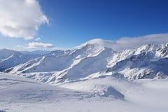 Val Senales, Italie Image stock