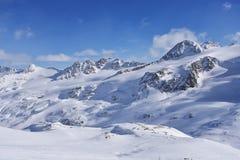 Val Senales, Italie Photographie stock libre de droits