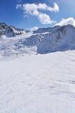 Val Senales Italien Royaltyfria Foton