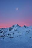 Val senales w Italy wschodzie słońca Zdjęcia Royalty Free