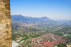 Val Susa i Piedmonte, Italien Royaltyfria Foton