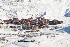 Val Thorens Stockfoto