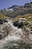 Val Thorens (2770 M.) Foto de Stock