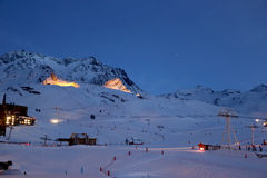 Val Thorens Images stock