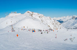 Val Thorens Immagine Stock