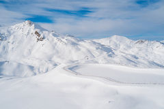 Val Thorens Royalty Free Stock Photos