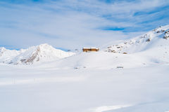 Val Thorens Stock Image