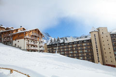 Val Thorens Royalty Free Stock Photography