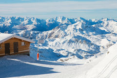 Val Thorens Royalty Free Stock Images