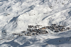 Val Thorens Stock Photography