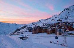 Val Thorens Royalty Free Stock Image
