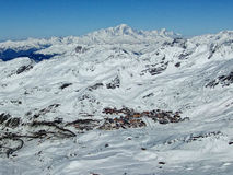 Val Thorens. Situated in Les Trois Vallees, France Royalty Free Stock Photography