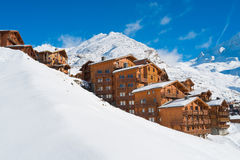 Val Thorens stock images