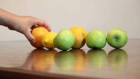 Val upp av frukt 1 lager videofilmer