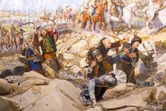 Val van Constantinopel stock foto's