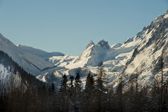 Val Veny, Courmayeur, Aosta κοιλάδα, Ιταλία Στοκ φωτογραφίες με δικαίωμα ελεύθερης χρήσης