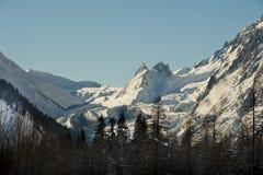 Val Veny, Courmayeur, das Aostatal, Italien Lizenzfreie Stockfotos