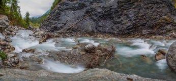 Val Veny, Italy - Alpine Stream IV Royalty Free Stock Photos