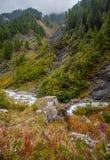 Val Veny, Italy - Early Autumn Stock Image