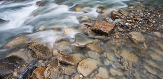 Val Veny, Italy - Rocks and Stream Stock Photo