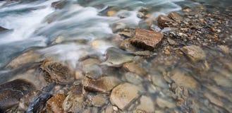 Val Veny, Italy - Rocks and Stream Stock Photo