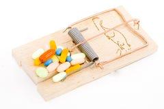 Val voor Verdovende middelen Stock Afbeelding