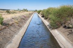 Vala de irrigação Fotos de Stock