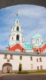 Valaam海岛的, Ladoga湖东正教基督教会 免版税库存照片