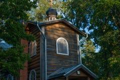 Valaam群岛的Konevsky修道院  库存照片