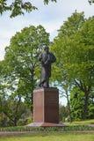 Valaam 对最初叫的安德鲁的纪念碑 库存图片