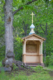 Valaam. Chapel Agony in the Garden. Valaam. An icon chapel Agony in the Garden in Gefsimanskom to a monastery Royalty Free Stock Image
