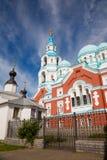 Valaam Savior Transfiguration Spaso-Preobrazhensky monastery i Royalty Free Stock Photos