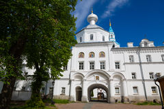 Valaam Savior Transfiguration Spaso-Preobrazhensky monastery, Royalty Free Stock Photography