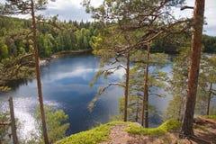 Valaam Vue de la montagne Eleon Images libres de droits