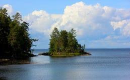 Valaam wyspa Zdjęcia Royalty Free