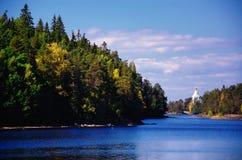 Valaameiland in Karelië, Rusland Stock Afbeeldingen
