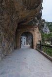 Valadier świątynia w Genga, Włochy Obraz Stock