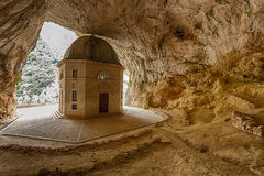 Valadier Temple in Genga, Italy Royalty Free Stock Photo