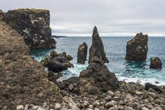 Valahnukamol, Iceland royalty free stock photo