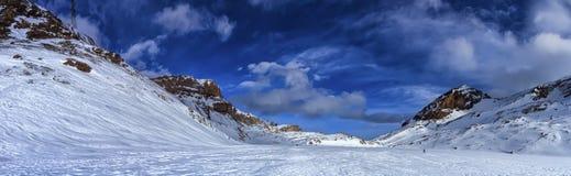 Valais Alps mountains upon Leukerbad, Switzerland Stock Images