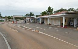 Valamar camping Lanterna reception in Tar, Croatia. Stock Images